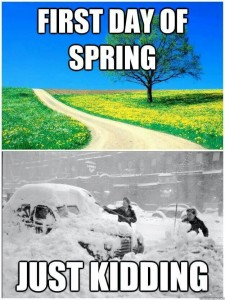 Is that you, Spring?