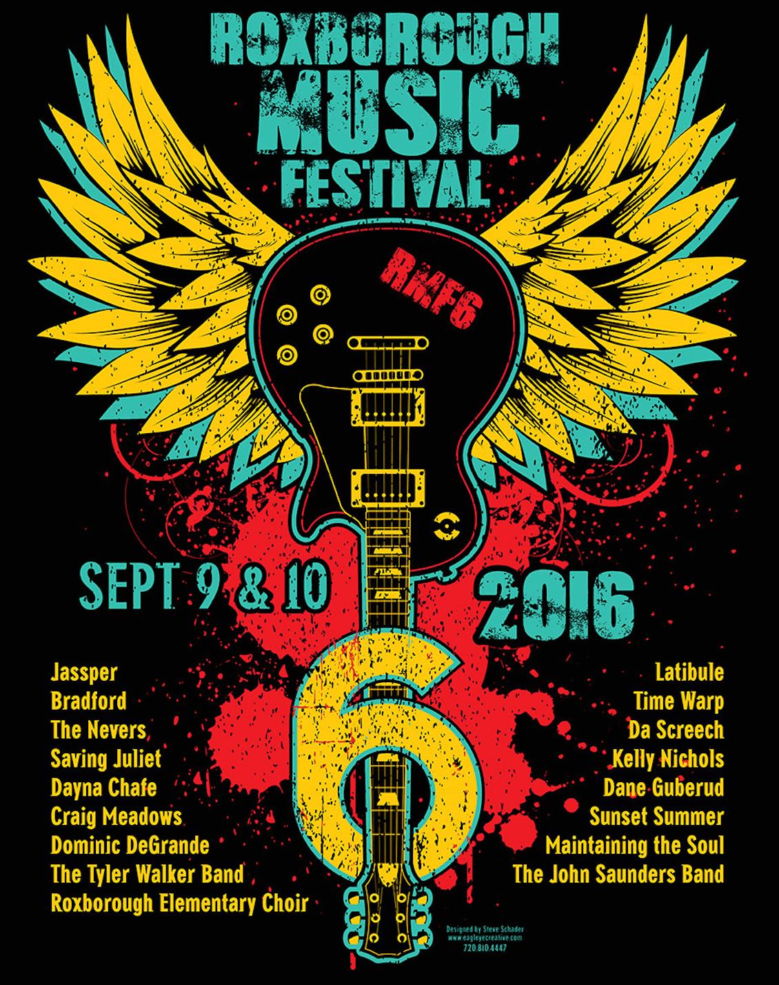 6th Annual Roxborough Music Festival – More Info.