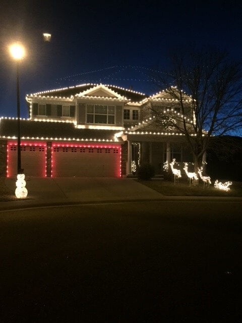 Holiday Lights in Roxborough