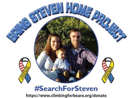 Bring Steven Home Fundraiser, August 12th from 4-8pm