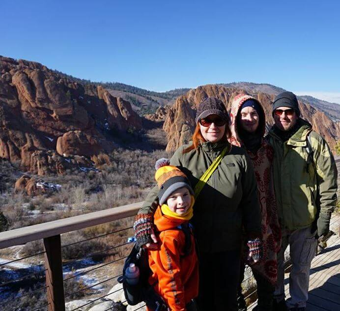 Hikers kick-start new year with both feet on trail