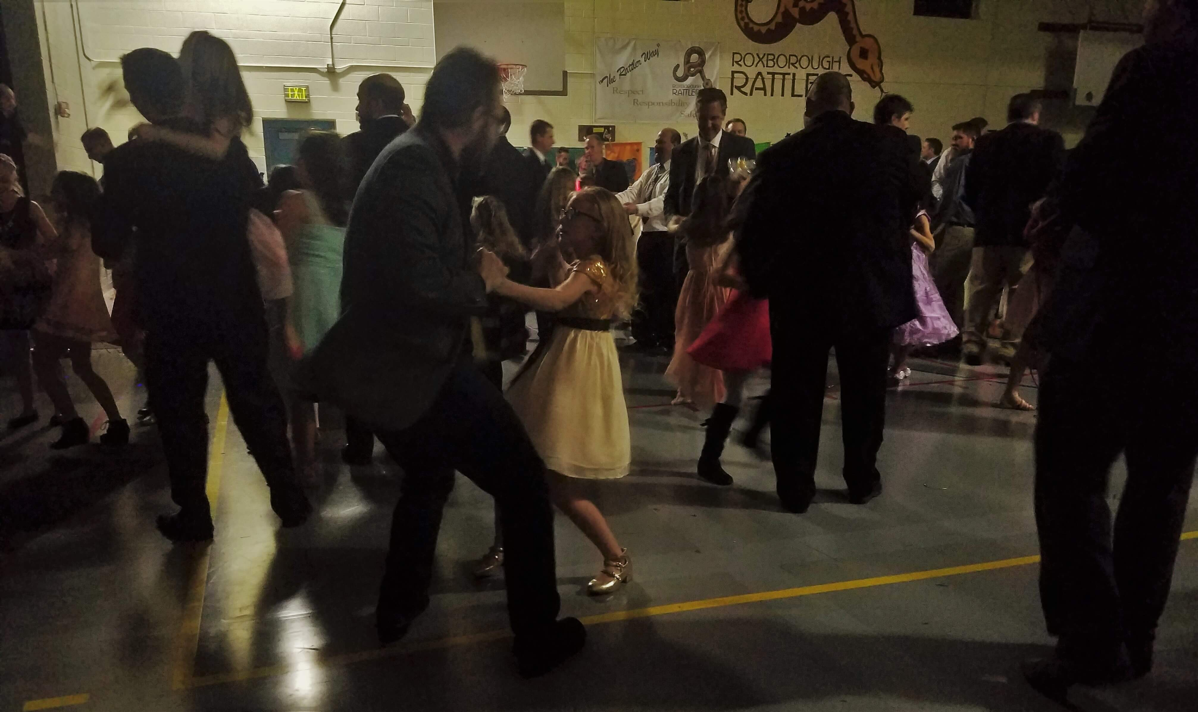 Dads, daughters dance the night away